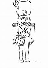 Coloring Soldier Toy Baker Soldat Printable Getcolorings Un sketch template