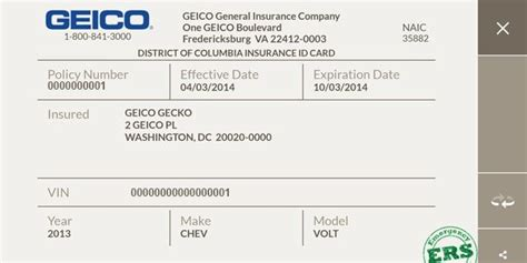 images  kentucky auto insurance card template axclick