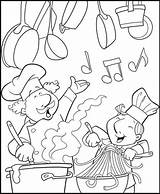 Coloring Chef Pages Kitchen Cooking Fun Cook Pizza Coloringpagesfortoddlers Chefmaster Restaurant Sheets Baking Adult Printable Activities Popular sketch template