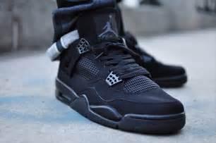 4 black cat air 4 retro black cat shoes jpg 700 215 465 pixels