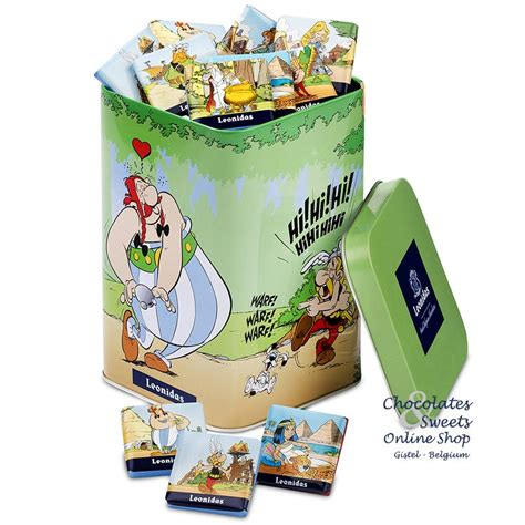 Laundry Biodegradable In 400g Box by Leonidas Napolitains Asterix Leonidas Shop