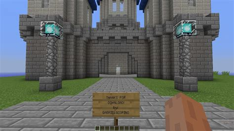 Karte Minecraft.Burg Minecraft Karte Herunterladen 1 5 2016 Tracseso