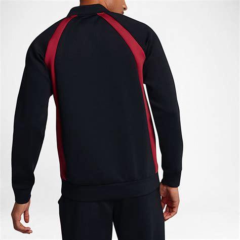jordan sportswear flight tech jacket black red sportfitscom