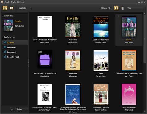 adobe digital editions    software