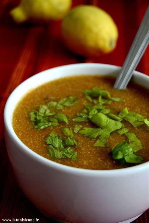 cuisine tunisienne ramadan chorba tunisienne le sder