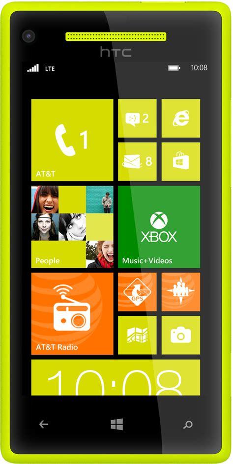 a mobile phone htc windows phone 8x 4g lte nfc yellow smart phone att