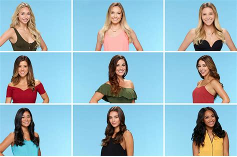 Bachelor 2017 cast bios