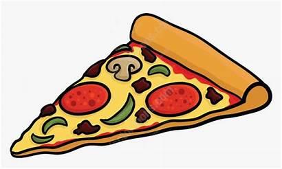 Pizza Slice Clipart Cartoon Vector Teachers Toons