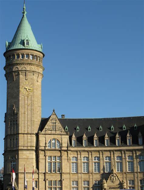 luxembourg historical buildings  avenue de la liberte