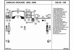 2004 Cadillac Escalade Dash Kits