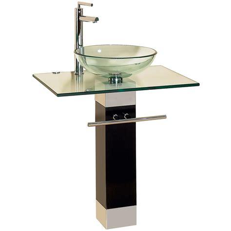 bathroom vanity sink combo 23 bathroom vanities tempered glass vessel sinks combo