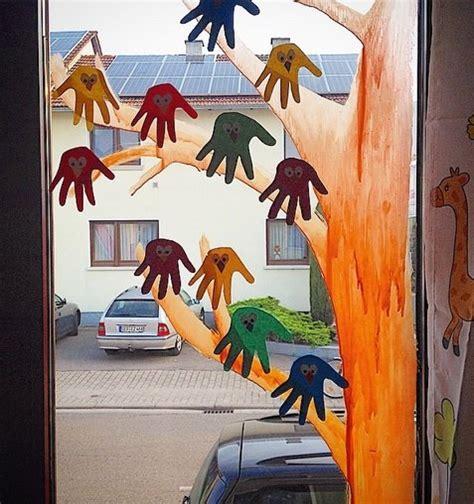 Herbst Baum Fenster by Bastelarbeiten Quot Sternenf 228 Nger Quot Kinderbetreuung Und