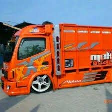 Modifikasi Mobil Canter 125 Hd by Modifikasi Mobil Truck Mitsubishi Canter 125 Hd Gaul