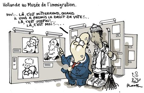 bureau de l immigration hollande au musée de l immigration le dessin du monde