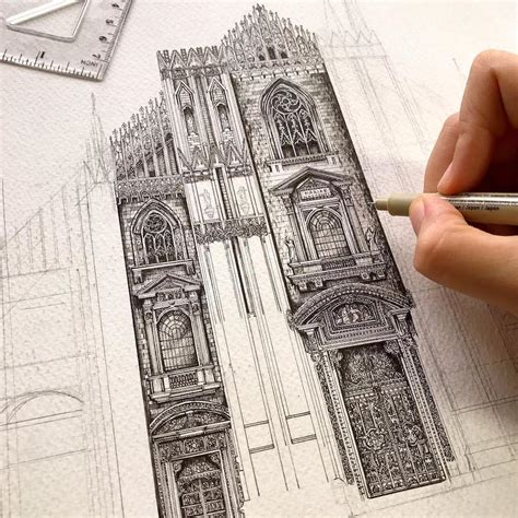 architectural detail drawings  buildings   world