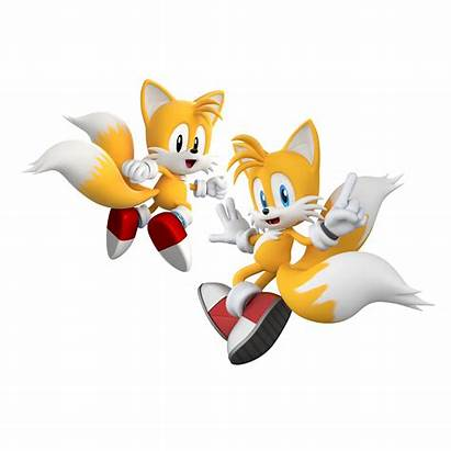Tails Sonic Modern Generations Classic Retro Prower