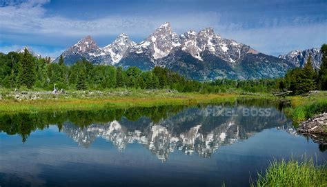 grand teton national park cathedral reflections