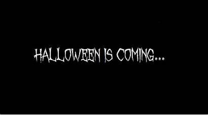 Coming Halloween Tell Creepy