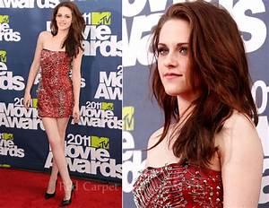 Kristen Stewart In Balmain - 2011 MTV Movie Awards - Red ...