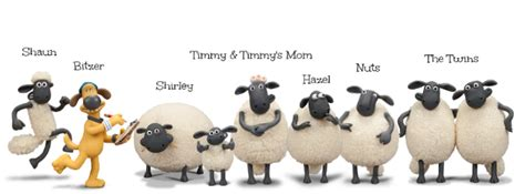 sheep names shaun the sheep characters names