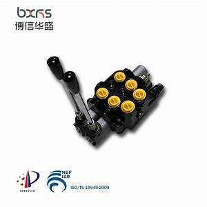 China 50l  Min 2 Spools Hydraulic Sectional Directional