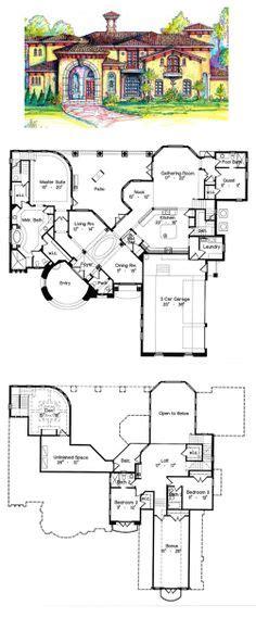 images  italian house plans  pinterest italian houses mediterranean house plans