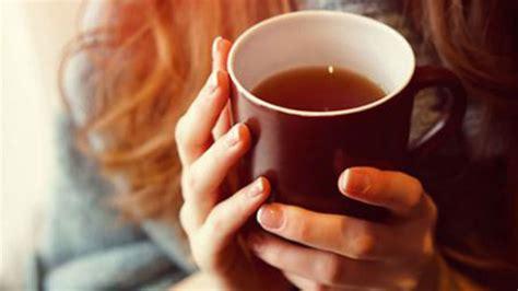 drinking hot tea    fold increased risk