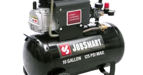 Jobsmart 1.4 Hp 10 Gallon Portable Oil Lubricated