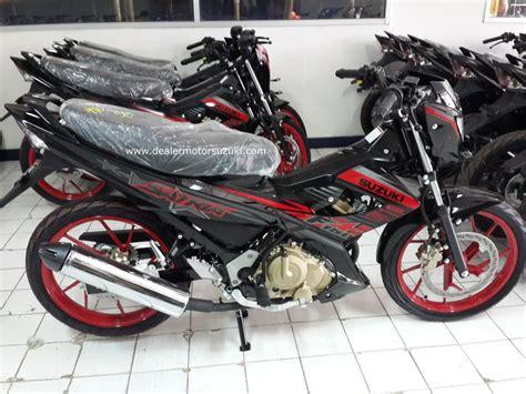 Satria 2014 Merah Hitam Standart by Suzuki Satria Black Ii 2014 Dealer Resmi Motor Suzuki