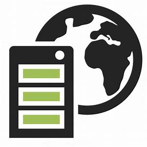 Server Earth Icon & IconExperience - Professional Icons ...
