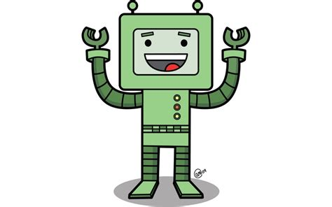 Happy Bot By Andy Mcnally On Storybird