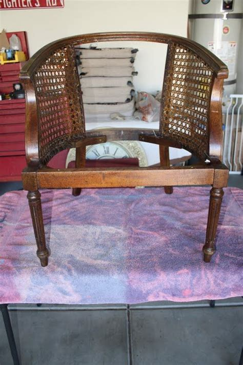 Companies That Reupholster Furniture by Living Savvy How To Reupholster A Barrel Chair
