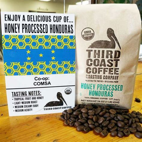 The name honey process actually comes from how sticky the beans get during processing. Honey Processed Honduras - Third Coast Coffee Roasting Company