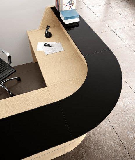 lada per ufficio comp gt03 bancone reception angolare realizzabile su