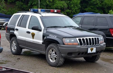 police jeep cherokee city of morgantown wv police jeep grand cherokee by