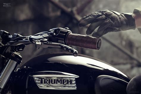 Triumph Bonneville T100 4k Wallpapers by Triumph Bonneville T100 Custom By Bunker Custom Cycles 9
