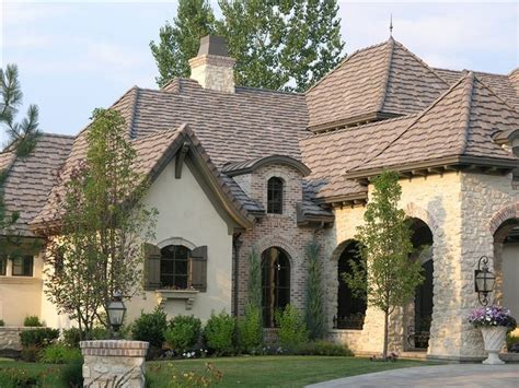 brick stone and stucco house exteriors google search