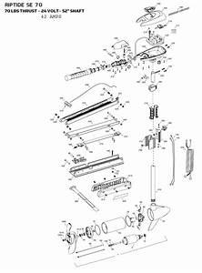 minn kota riptide 70 se parts 2015 from fish307com With 24vdc wiring diagram minn kota riptide