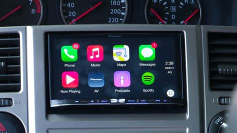 apple carplay  pioneer  test  caradvice