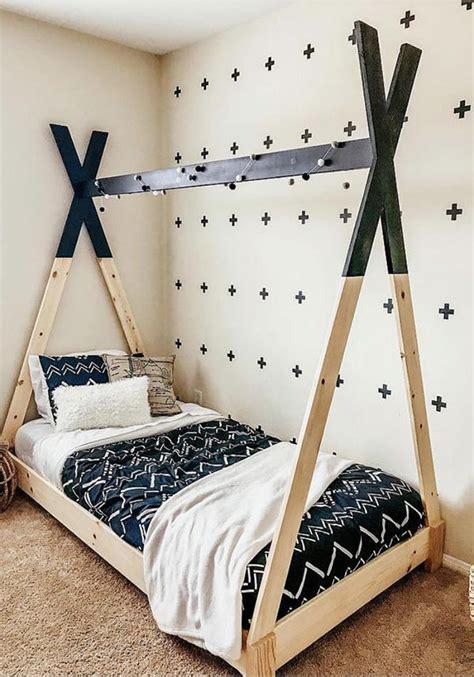 diy kid beds    making