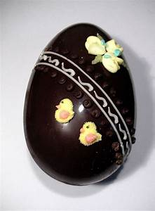 Fortnum & Mason Hand Decorated Dark Chocolate Easter Egg