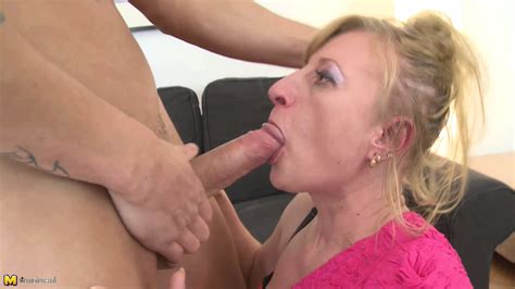 2  Porn Pic From Mature Blonde Mom Bj And Fucking Sex