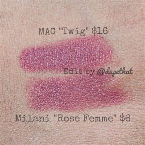 mac twig lipstick dupes blush