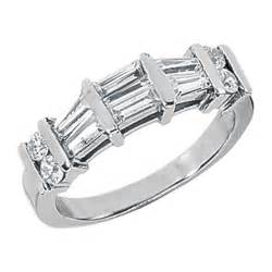 baguette wedding band baguette wedding bands from mdc diamonds