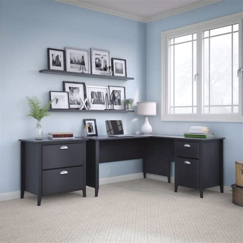 kathy ireland Office Suede Oak Connecticut Lateral File