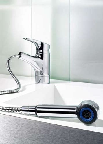 Hansa Kitchen Faucet by Hansa 0138 2273 0017 Hansamix Pull Out Spray Kitchen Faucet