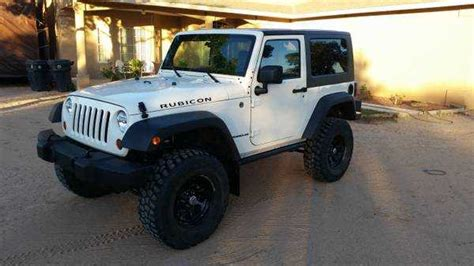 white jeep 2 door jeep rubicon white 2 door mitula cars