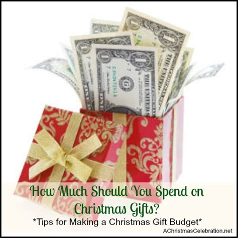 how much money should you spend on christmas gifts