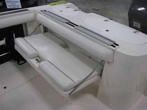 Diy Folding Boat Bench Seat by Wellcraft Folding Bench Seat The Hull Boating