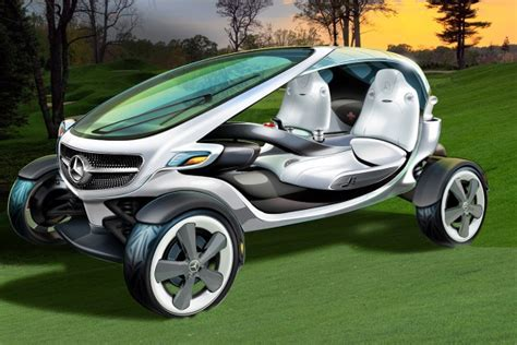 mercedes benz vision golf cart  rolling country club edmunds